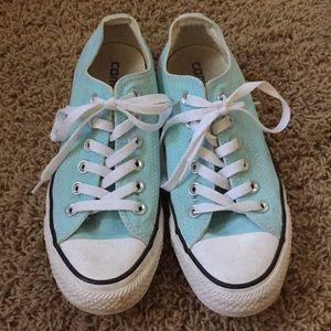 Mint Converse Blue Girls